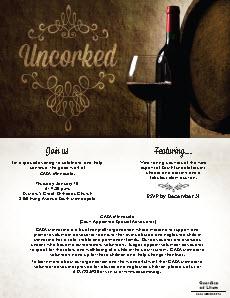 CASA Guardian ad-Litem January 10th Wine Tasting Fund Raiser