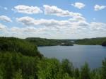 beautiful MN lake scene