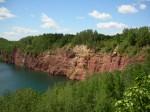 the mine lakes